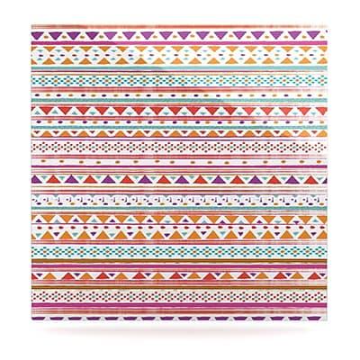 KESS InHouse Native Bandana by Nika Martinez Graphic Art Plaque; 8'' H x 8'' W
