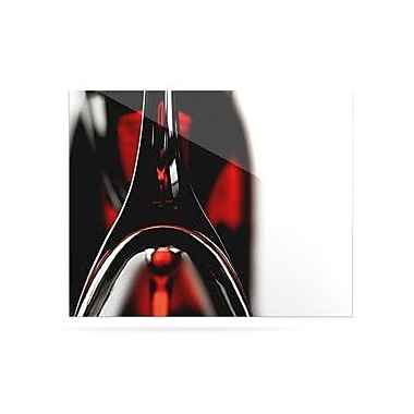 KESS InHouse Red for Two by Ingrid Beddoes Photographic Print Plaque