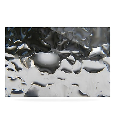 KESS InHouse Window by Maynard Logan Graphic Art Plaque; Grey