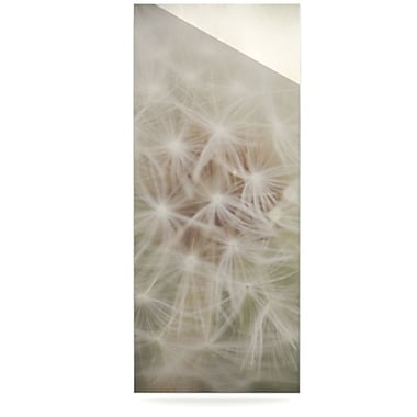 KESS InHouse Dandelion by Catherine McDonald Photographic Print Plaque; 21'' H x 9'' W
