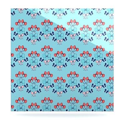 KESS InHouse Bows by Anneline Sophia Graphic Art Plaque; 10'' H x 10'' W