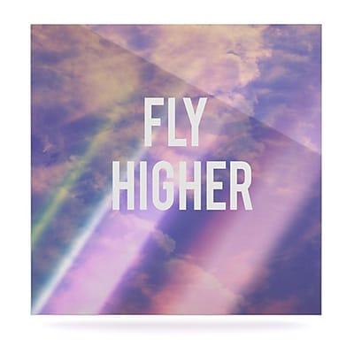 KESS InHouse Fly Higher by Rachel Burbee Graphic Art Plaque; 10'' H x 10'' W
