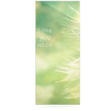 KESS InHouse Love You More by Robin Dickinson Graphic Art Plaque