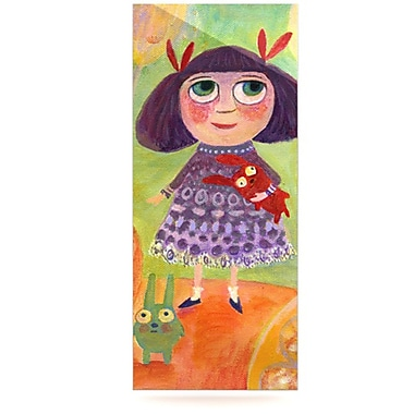 KESS InHouse Flowerland by Marianna Tankelevich Painting Print Plaque