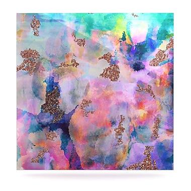 KESS InHouse Sparkle Mist by Nikki Strange Painting Print Plaque; 8'' H x 8'' W