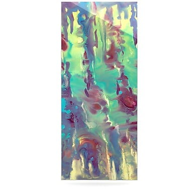 KESS InHouse Splash by Rosie Brown Painting Print Plaque; 21'' H x 9'' W