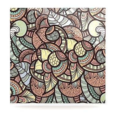 KESS InHouse Wild Run by Danny Ivan Graphic Art Plaque; 8'' H x 8'' W