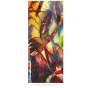 KESS InHouse Growth by Kristin Humphrey Painting Print Plaque