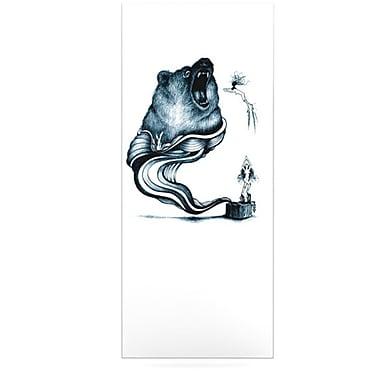 KESS InHouse Hot Tub Hunter by Graham Curran Graphic Art Plaque; 21'' H x 9'' W