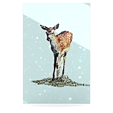 KESS InHouse Fawn by Monika Strigel Graphic Art Plaque; 36'' H x 24'' W