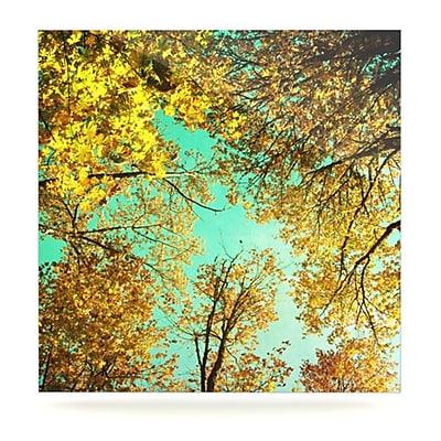 KESS InHouse Vantage Point by Sylvia Cook Photographic Print Plaque; 8'' H x 8'' W