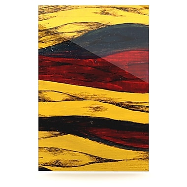 KESS InHouse Sheets by Brittany Guarino Graphic Art Plaque; 36'' H x 24'' W
