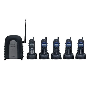 EnGenius® DURAFON1X-PIDW Single Line System Cordless Phone