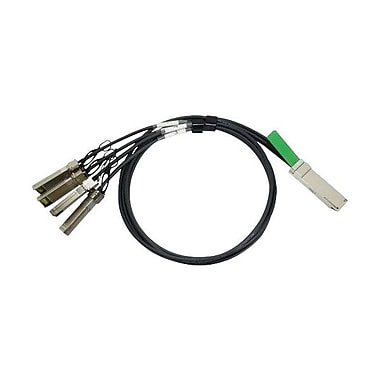 HP®QSFP+/SFP+ Splitter Cable. 9.84'