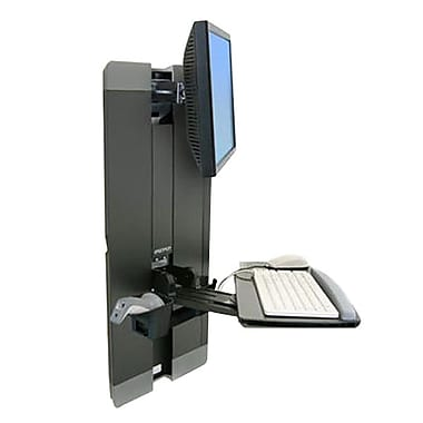 Ergotron® Styleview® 60-609-195 Vertical Lift for 24
