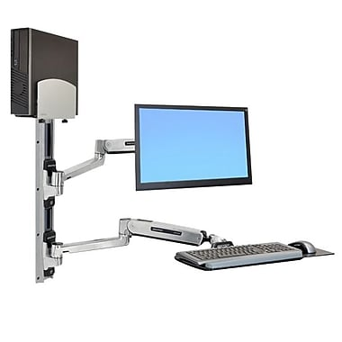 Ergotron® 45-358-026 Sit-Stand Wall Mount System, 42