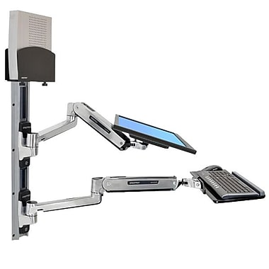Ergotron® 45-359-026 Sit-Stand Wall Mount System, 42