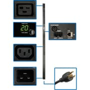 Tripp Lite – Unité de distribution de l'alimentation numérique PDUMNV20HV, verticale, surveillance à distance, 20 A
