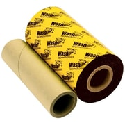 "Wasp® Premium WPR Wax-Resin Barcode Ribbon For WPL 305/606 Label Printer, 2.16"" x 820'"