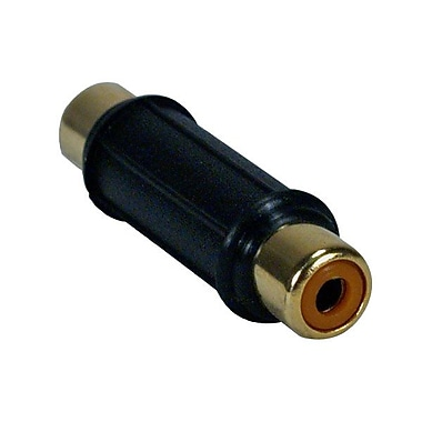 QVS RCA1V-FFG RCA Adapter, Black