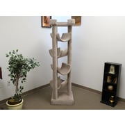 New Cat Condos 72'' Premier Cat Tree; Beige
