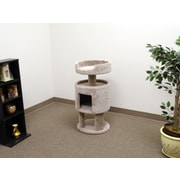 New Cat Condos 32'' Premier Contemporary Cat Condo; Beige