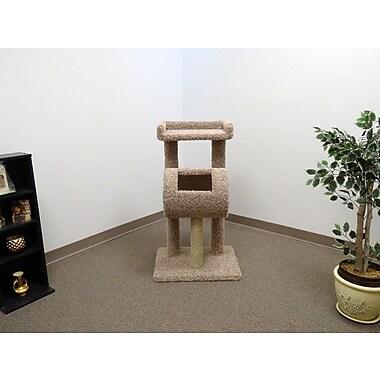 New Cat Condos 42'' Premier Climber Cat Tree; Beige
