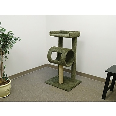 New Cat Condos 42'' Premier Climber Cat Tree; Green