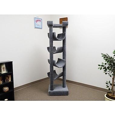 New Cat Condos 72'' Premier Cat Tree; Gray