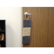 New Cat Condos 20'' Premier Door Hanging Scratching Board; Gray