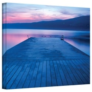 "ArtWall ""Waiting for The Dawn"" Gallery Wrapped Canvas Arts By Steve Ainsworth"