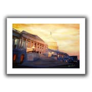 """ArtWall """"Capitol II"""" Flat Unwrapped Canvas Art By Martina and Markus Bleichner, 24"""" x 36"""""""