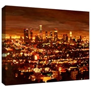"""ArtWall """"City of Angels"""" Gallery Wrapped Canvas Arts By Martina and Markus Bleichner"""