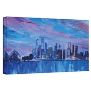 "ArtWall ""Sydney"" Gallery Wrapped Canvas Arts By Martina and Markus Bleichner"