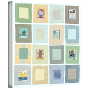 """ArtWall """"Baby's Squares"""" Gallery Wrapped Canvas Art By Maria Carluccio, 24"""" x 24"""""""