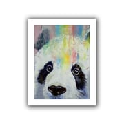 "ArtWall ""Panda Rainbow"" Unwrapped Canvas Arts By Michael Creese"