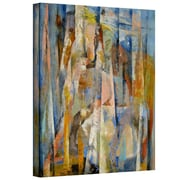 "ArtWall ""Wild Horses"" Gallery Wrapped Canvas Arts By Michael Creese"