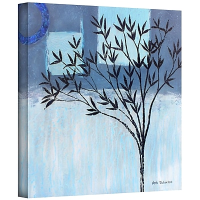"ArtWall ""Ashley Day Blue"" Gallery Wrapped Canvas Art By Herb Dickinson, 24"" x 24"""
