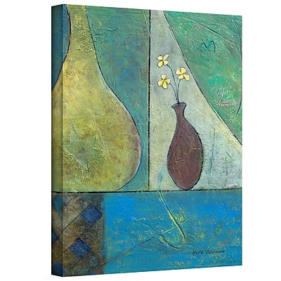 "ArtWall ""Texture Whimsy"" Gallery Wrapped Canvas Art By Herb Dickinson, 48"" x 36"""