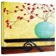 """ArtWall """"Casa Table"""" Gallery Wrapped Canvas Art By Herb Dickinson, 36"""" x 48"""""""