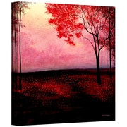 "ArtWall ""Red Dawn"" Gallery Wrapped Canvas Art By Herb Dickinson, 24"" x 24"""