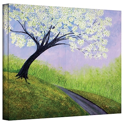 "ArtWall ""Road to Cobbly Nob"" Gallery Wrapped Canvas Art By Herb Dickinson, 36"" x 48"""