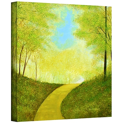 "ArtWall ""Winding Road"" Gallery Wrapped Canvas Art By Herb Dickinson, 24"" x 24"""