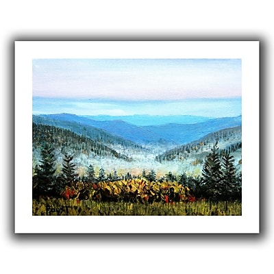 "ArtWall ""Hidden Valley"" Flat Unwrapped Canvas Art By Gene Foust, 18"" x 24"""