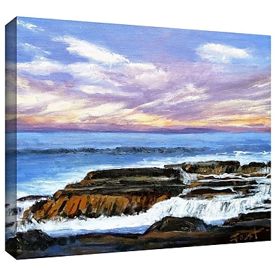 "ArtWall ""Rolling Water"" Gallery Wrapped Canvas Art By Gene Foust, 18"" x 24"""