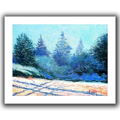 "ArtWall ""Tree Side"" Flat Unwrapped Canvas Art By Gene Foust, 18"" x 24"""