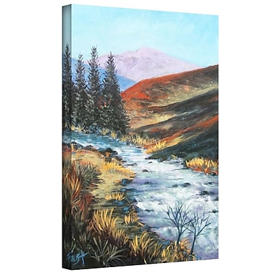 "ArtWall ""Rolling Rapids"" Gallery Wrapped Canvas Art By Gene Foust, 24"" x 32"""
