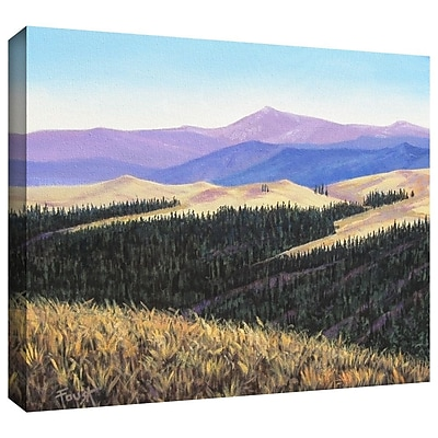 "ArtWall ""Waves of Grain"" Gallery Wrapped Canvas Art By Gene Foust, 24"" x 32"""
