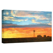 """ArtWall """"Legacy"""" Gallery Wrapped Canvas Art By Gene Foust, 12"""" x 24"""""""