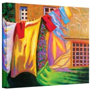 """ArtWall """"French Laundry"""" Gallery Wrapped Canvas Art By Susi Franco, 24"""" x 32"""""""